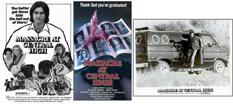 Massacre at Central High NOT Available on DVD MASSACRE AT CENTRAL HIGH We Are Movie Geeks