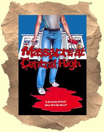 Massacre at Central High MASSACRE AT CENTRAL HIGH Buy it on DVD High school revenge