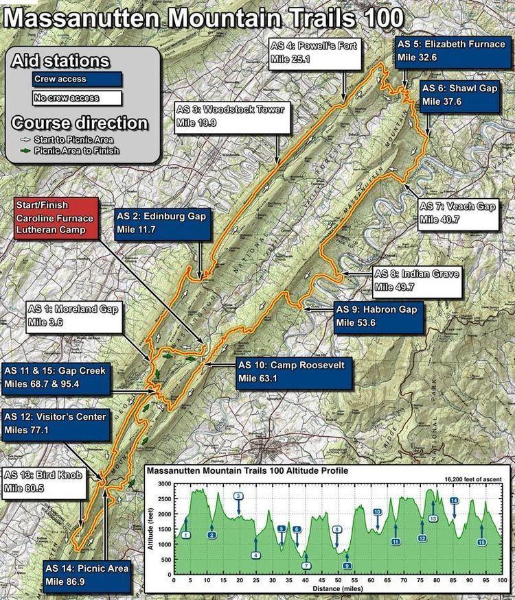 Massanutten Trail Massanutten Mountain Trails 100 Mile Run