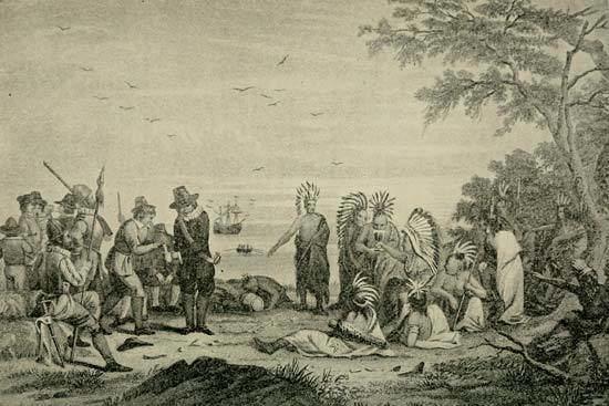 Massasoit Massasoit Wampanoag chief Britannicacom