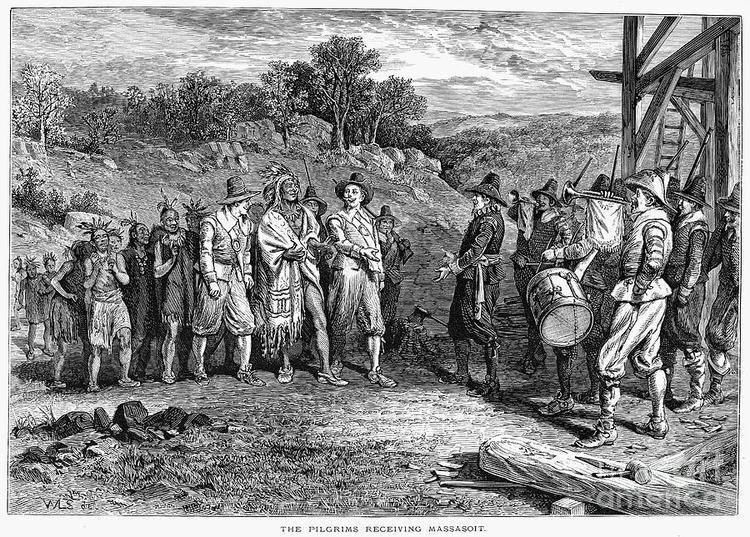 Massasoit Pilgrims Massasoit by Granger