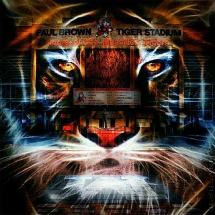 Massillon Tigers Paul Brown Tiger Stadium home of the Massillon Washington Tigers
