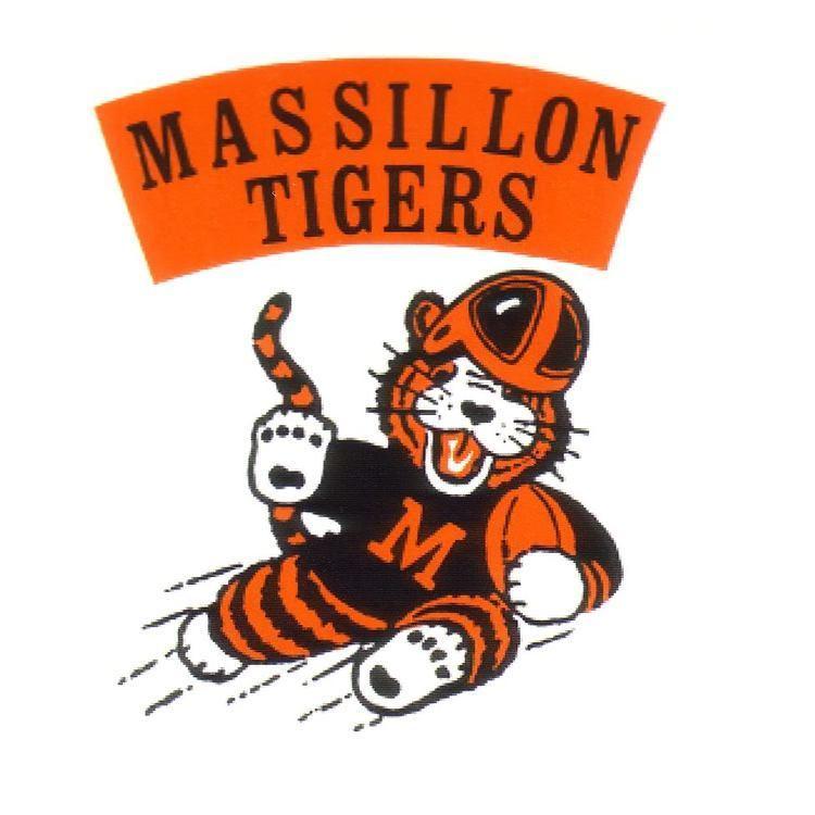Massillon Tigers massillon tigers cartoons Massillon Tigers Logo FOOTBALL