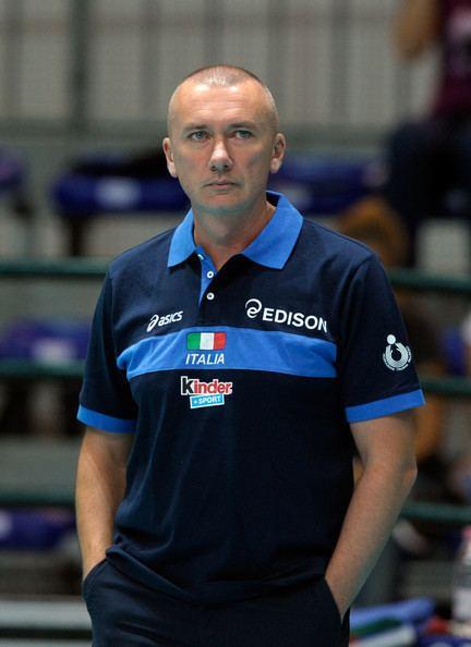 Massimo Barbolini Massimo Barbolini Pictures Women Volleyball European