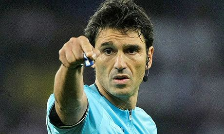 Massimo Busacca Manchester United and Barcelona get Swiss ref for
