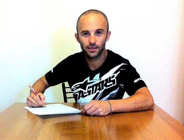 Massimo Roccoli Massimo Roccoli firma col Team Pata by Martini Motociclismo