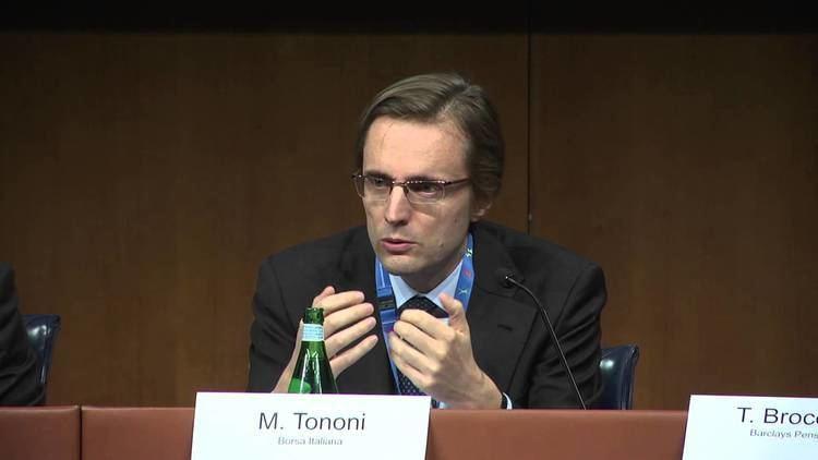 Massimo Tononi Intervento Massimo Tononi Borsa Italiana L39Europa della