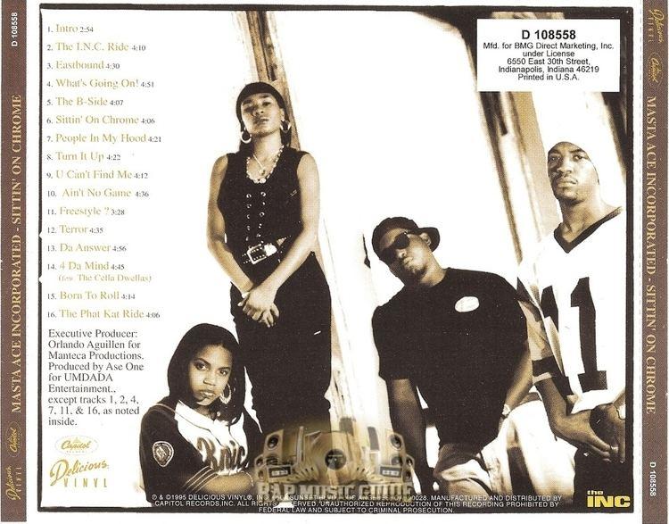 Masta Ace Incorporated Masta Ace Incorporated Sittin39 On Chrome CD Rap Music Guide