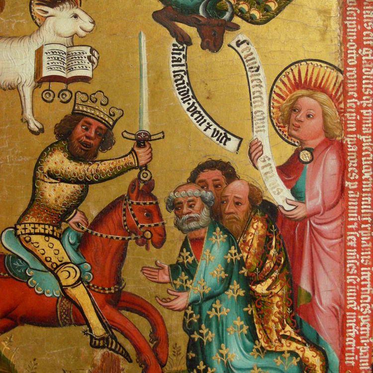 Master Bertram Master Bertram39s Apocalypse Triptych To clean or not to