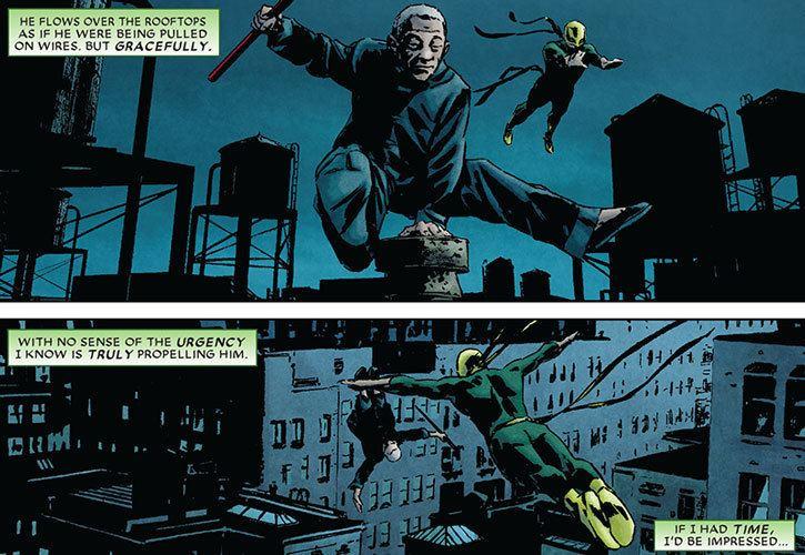 Master Izo Master Izo Marvel Comics Daredevil ally Hand Character
