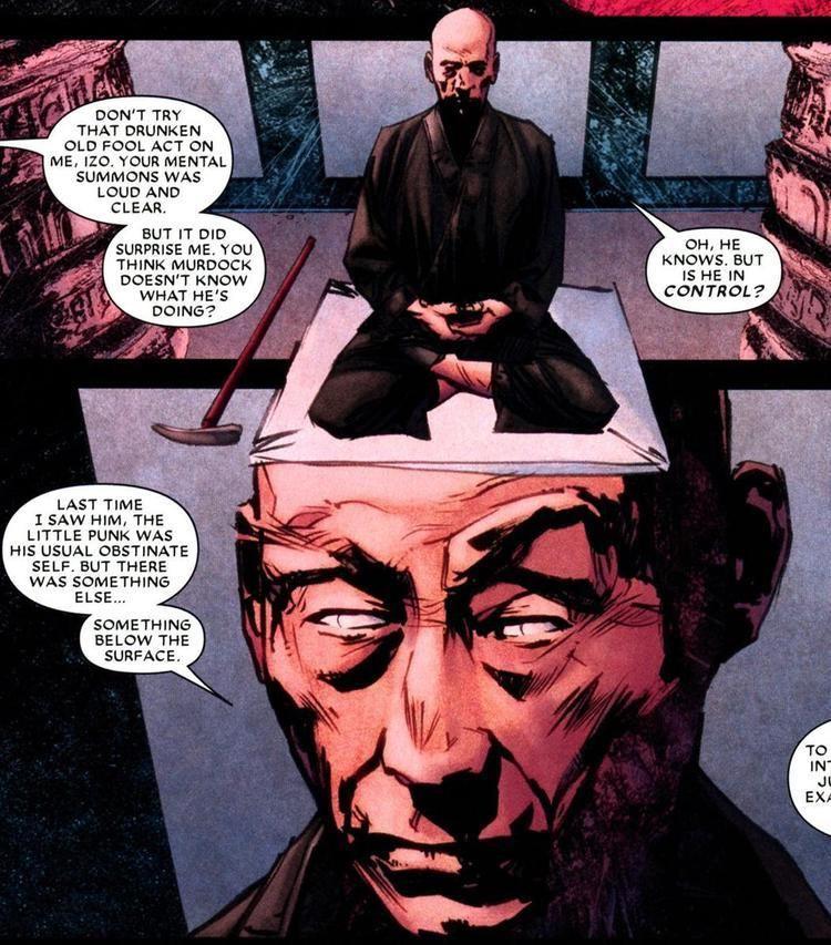 Master Izo Master Izo Character Comic Vine