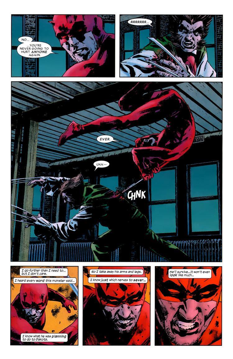 Master Izo scansdaily Brubaker39s Daredevil Part 7 Return of the King