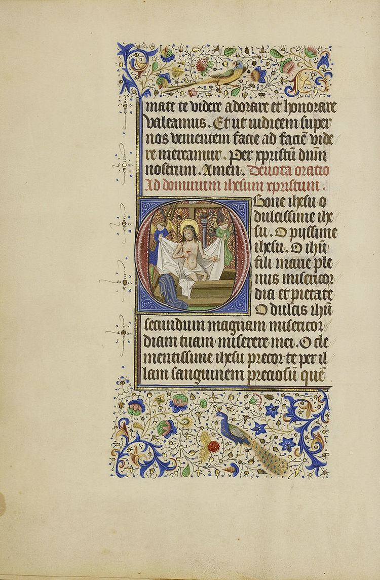 Master of the Llangattock Hours