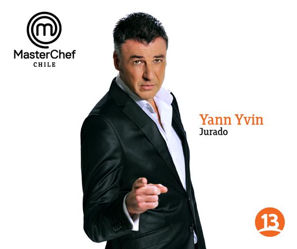 MasterChef Chile MasterChef Chile on Twitter quotNuestro Jurado francs Yann Yvin con