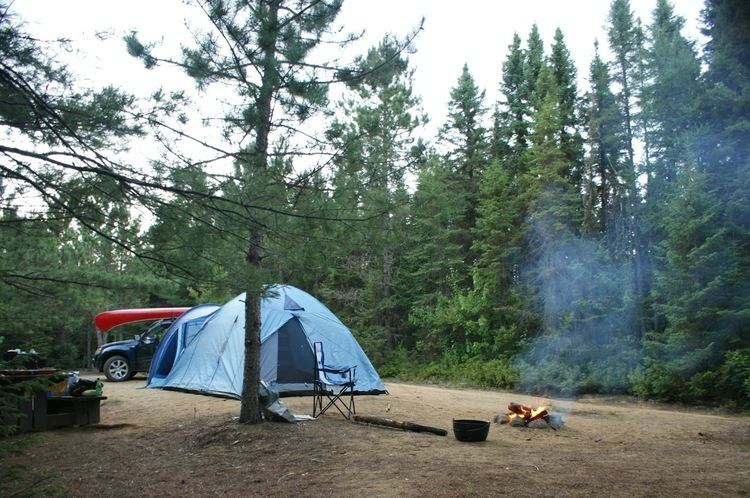 Mastigouche Wildlife Reserve Veils of Kali39s Myst Camping and canoing at Mastigouche