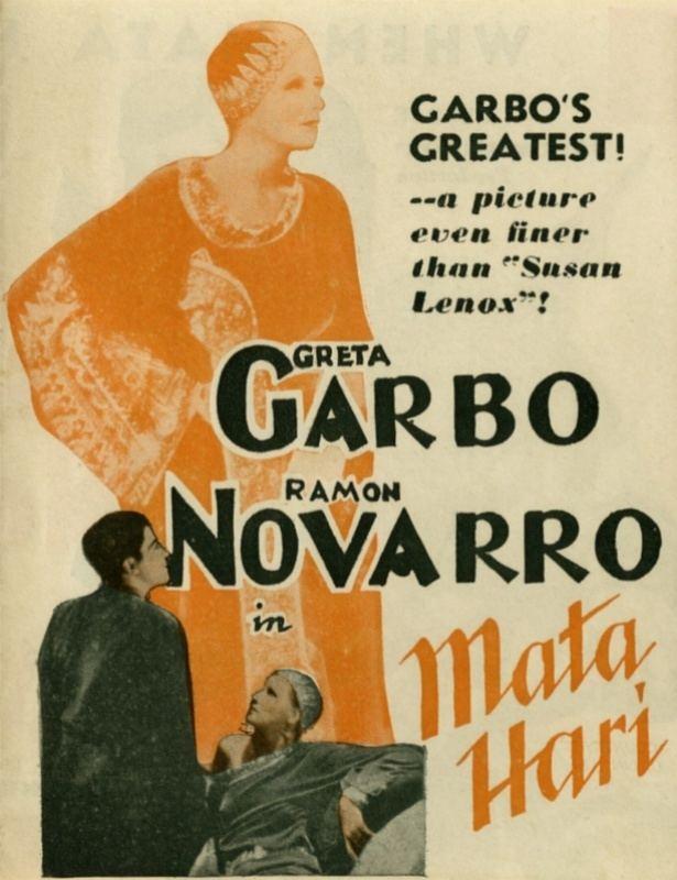 Mata Hari (1931 film) Mata Hari 1931