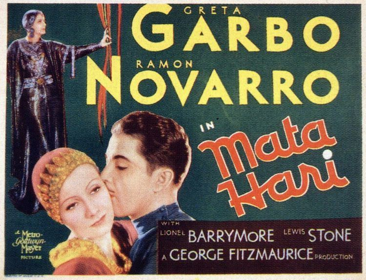 Mata Hari (1931 film) Lobby card for Mata hari 1931 starring Greta Garbo and Ramon