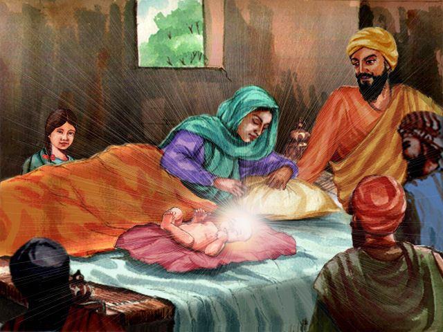 Mata Tripta Guru Nanak Dev Jee born Praakaash Mata Tripta Ji the blessed