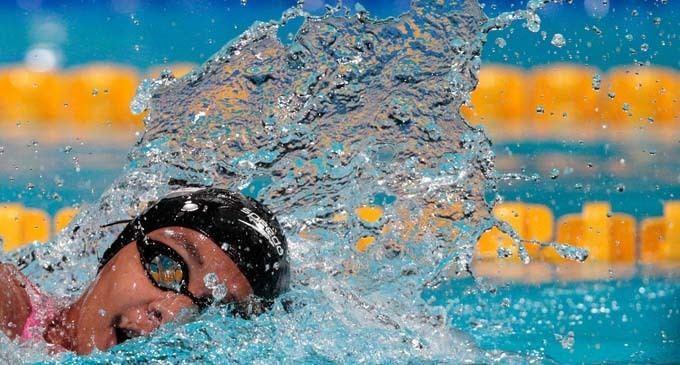 Matelita Buadromo Fiji Sun National swimming rep Matelita Buadromo