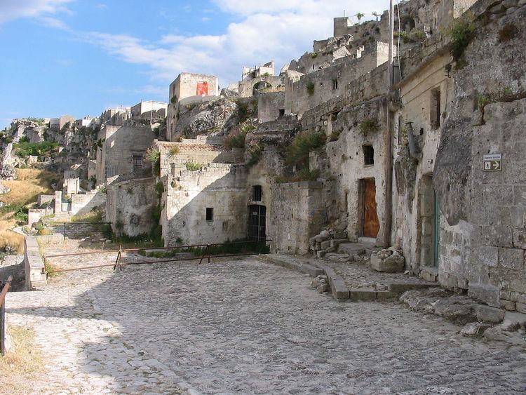 Matera in the past, History of Matera