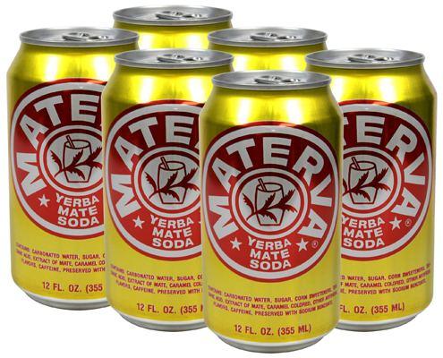 Materva Materva Soda 6 Pack 12 Oz Cans Walmartcom
