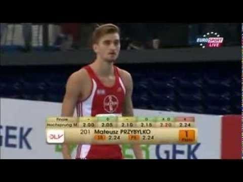 Mateusz Przybylko Mateusz Przybylko Leichtathletik HallenDM 2014 Leipzig Hochsprung