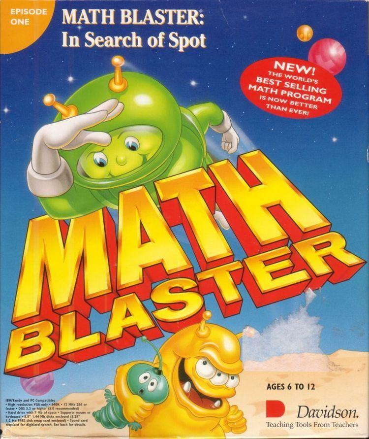 Math Blaster Episode I: In Search of Spot wwwmobygamescomimagescoversl89449mathblast