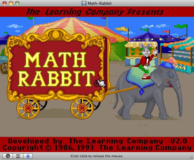 Math Rabbit Download Math Rabbit My Abandonware
