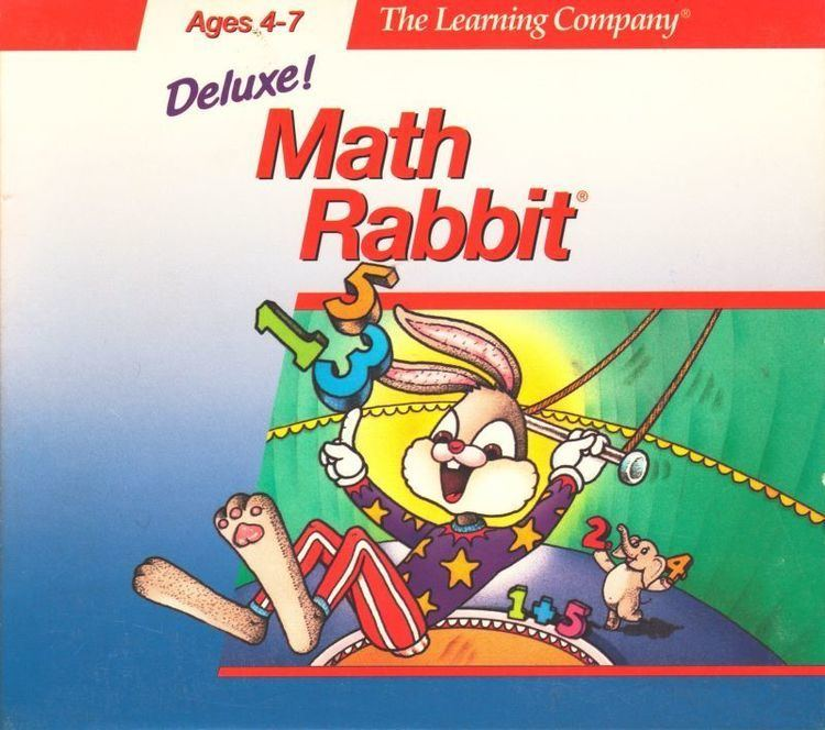 Math Rabbit Math Rabbit Deluxe for Macintosh 1993 MobyGames