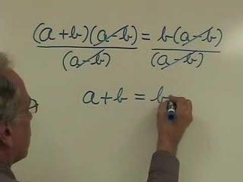 Mathematical fallacy A Mathematical Fallacy YouTube