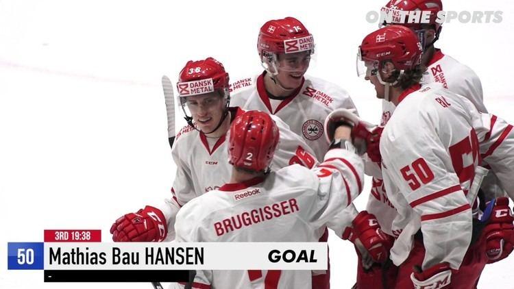 Mathias Bau Hansen GOAL Mathias Bau HANSEN 2017 2 11 Denmark vs Hungary KB