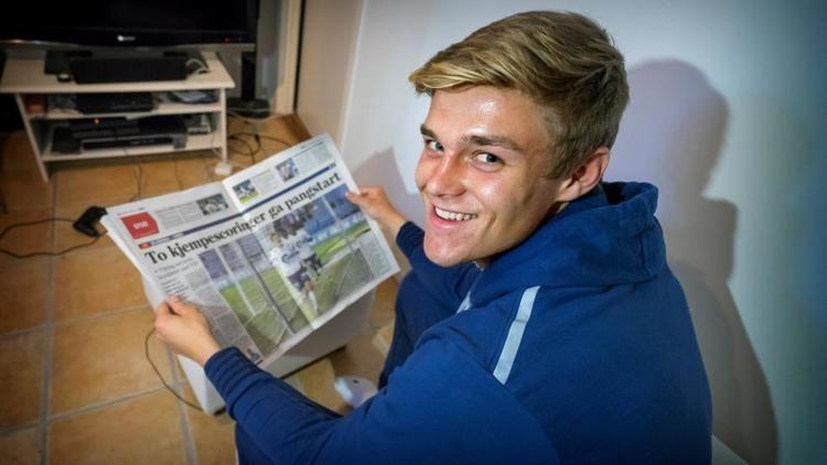 Mathias Bringaker Vikings spisskomet scoret med faren p tribunen Rogalandsavis