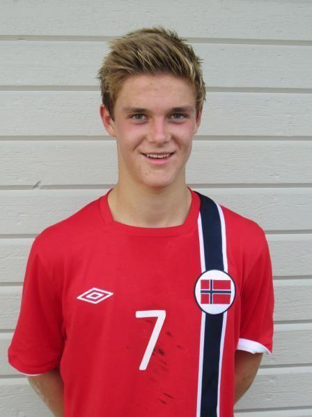 Mathias Bringaker Mathias Bringaker med Norge til Tyrkia
