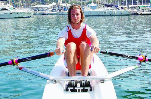 Mathias Raymond Aviron Mathias Raymond va tre fix mardi Autres sports