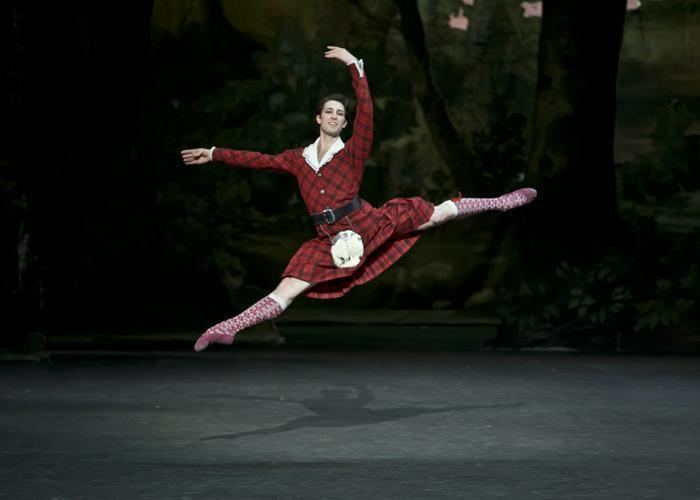 Mathieu Ganio La Sylphide Lacotte after Taglioni Paris Opera Danza