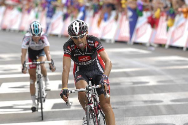 Mathieu Perget Fractured pelvis for Mathieu Perget at Tour de San Luis