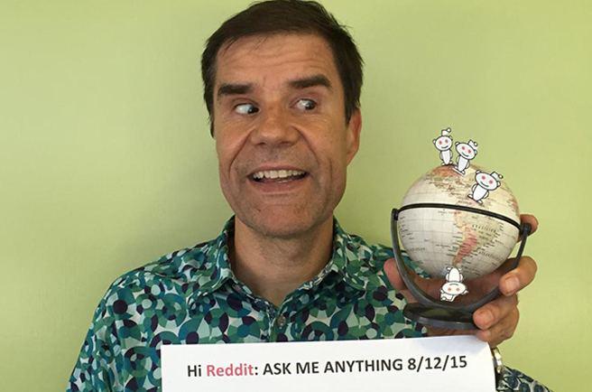 Mathis Wackernagel Aug 12 Reddit AMA with Mathis Wackernagel Global