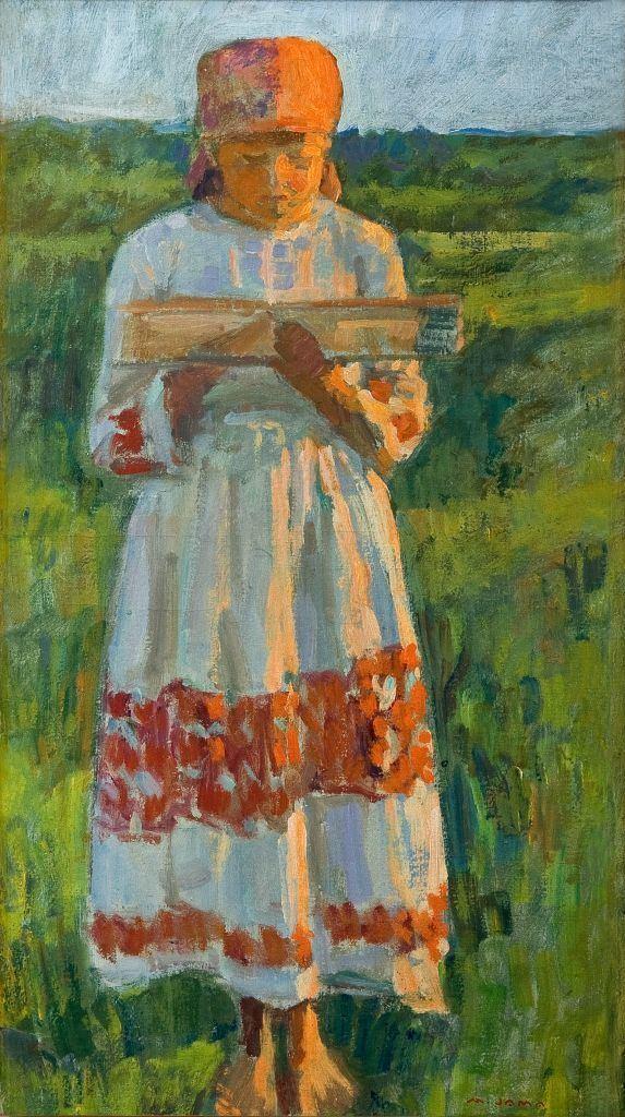 Matija Jama June 2015 Girl Weaver c 1934 Matija Jama The Royal