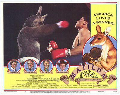 Matilda (1978 film) The Worst Sports Movie Ever Made Matilda the Boxing Kangaroo The