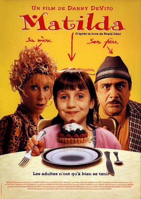Matilda (1996 film) Matilda Movie Poster 2 of 2 IMP Awards