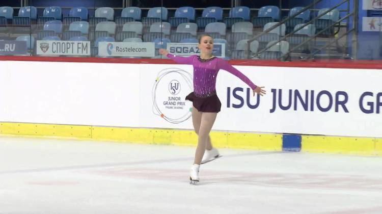 Matilda Algotsson 2015 ISU Junior Grand Prix Zagreb Ladies Free Skate Matilda