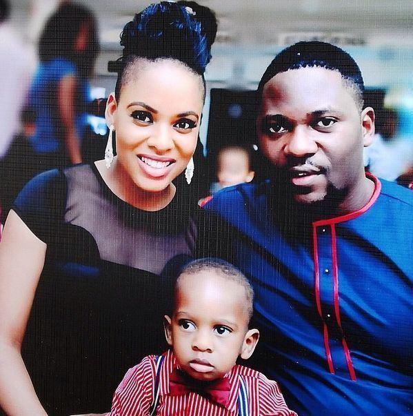 Matilda Obaseki Aww Tinsel Actress Matilda Obaseki Shares Pictures of her Son
