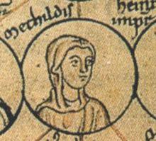 Matilda of Germany, Countess Palatine of Lotharingia