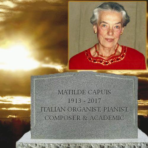 Matilde Capuis Capuis Concerto for oboe and strings composer Matilde Capuis