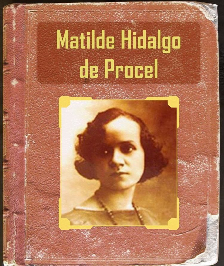 Matilde Hidalgo Seccin5tema3MatildaHidalgoProcel by Proyecto Logos Virtual