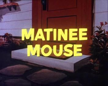 Matinee Mouse movie poster