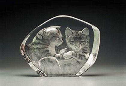 Mats Jonasson Mats Jonasson Cats CrystalFox Gallery