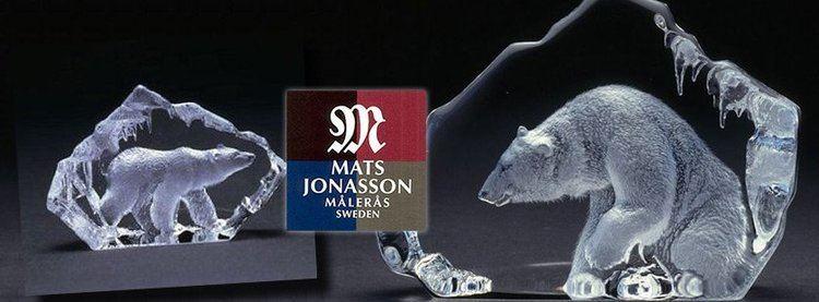 Mats Jonasson Mats Jonasson Maleras Crystal Sculptures made in Sweden Crystal