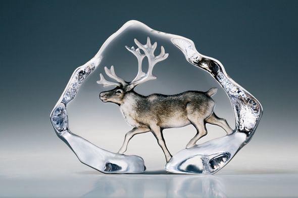 Mats Jonasson Mats Jonasson Forest Wildlife Crystal Sculptures Page 2