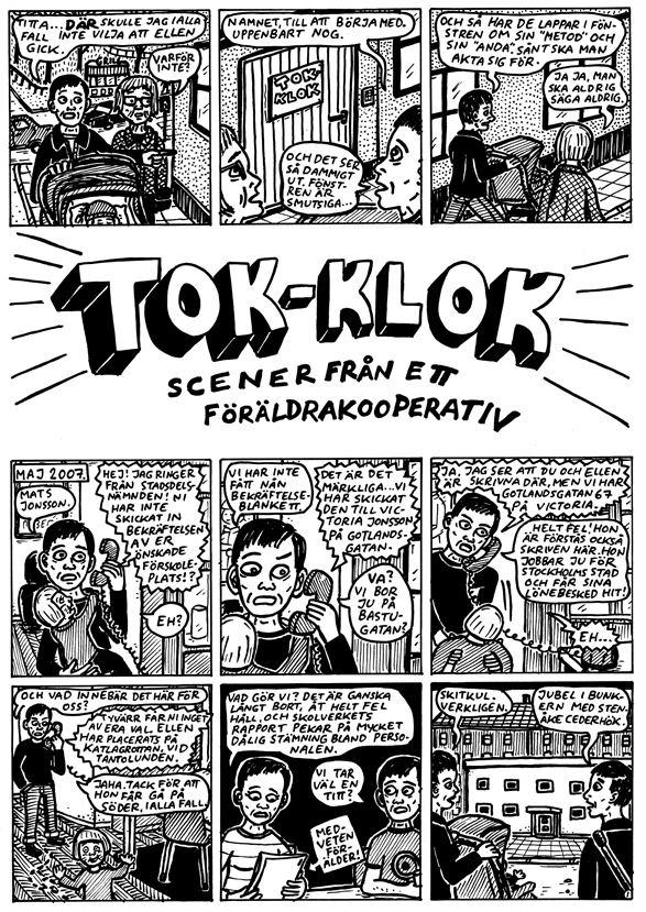 Mats Jonsson (cartoonist) Galagobloggen Torsdagsserie TokKlok av Mats Jonsson